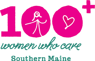 100+ Women Who Care Southern Maine logo