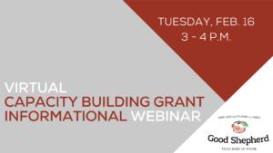 Capacity Building Grant Graphic