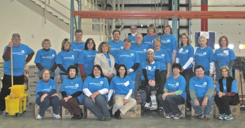Ameriprise Volunteers