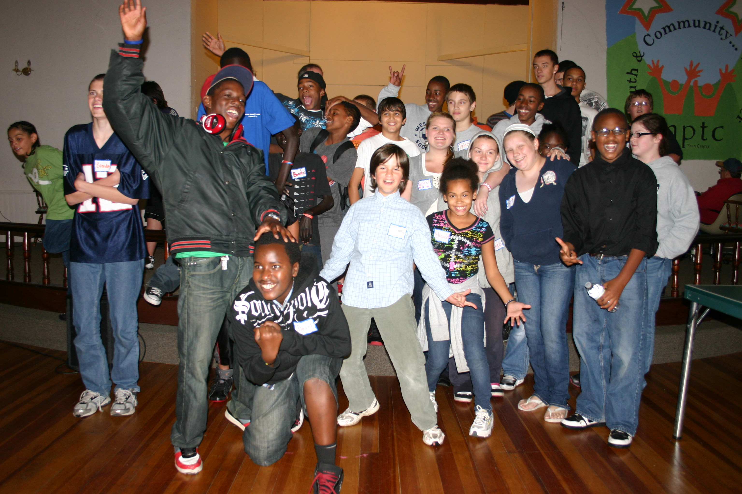 Teen Center celebrated the